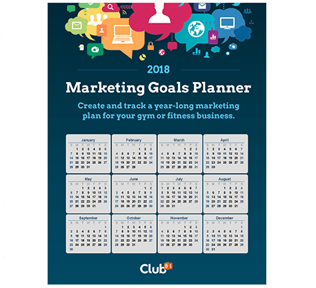 2018 Marketing Goals Planner