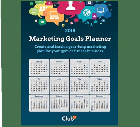 2018 Marketing Goals Planner