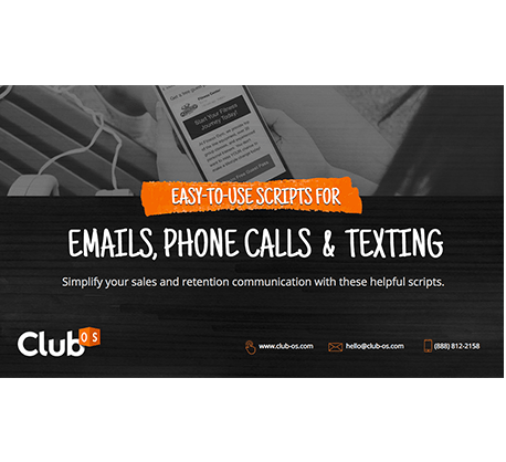 Easy-to-use Scripts for Emails, Phone Calls and Texting